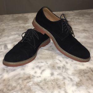Alfani Black PU Suede Dress Shoe 8.5